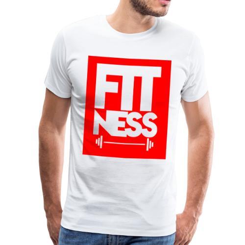 Fitness aptitud - Camiseta premium hombre