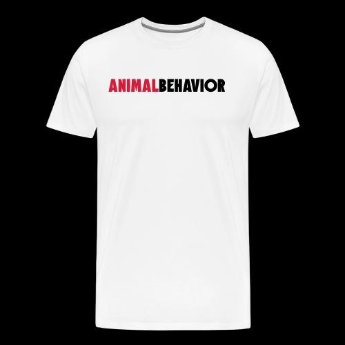 Animal behaviour Type - Männer Premium T-Shirt