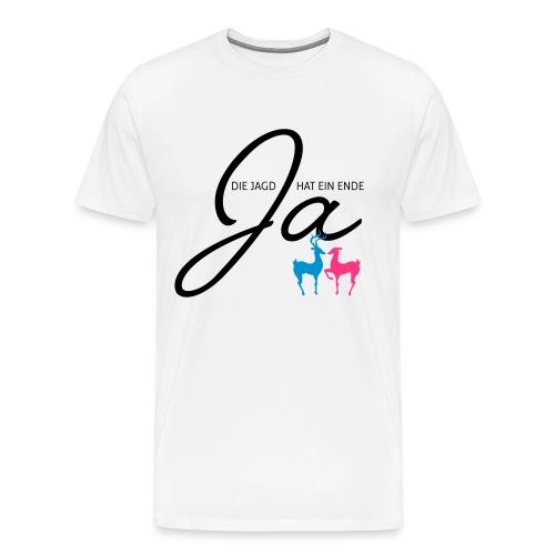 Jägerhochzeit - Männer Premium T-Shirt