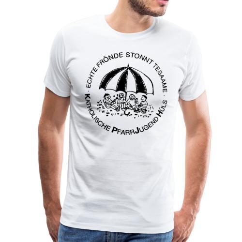 KPJH Logo Einfach - Schwarz - Männer Premium T-Shirt