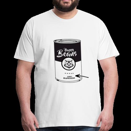 Happy Beans - Männer Premium T-Shirt
