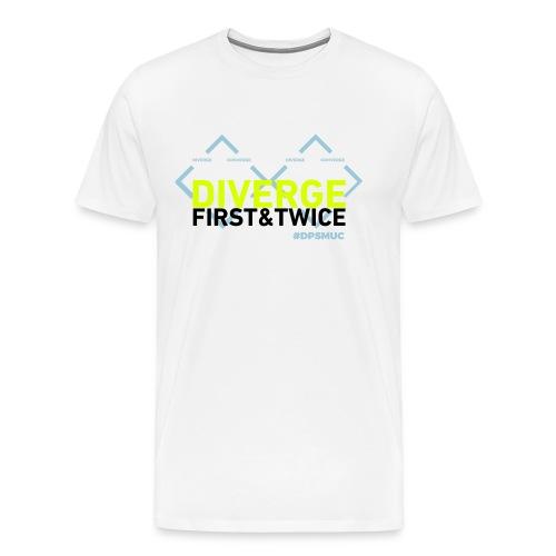 Double Diamond Diverge - Männer Premium T-Shirt
