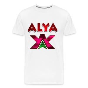 ALYA LOGO LONG - Premium T-skjorte for menn