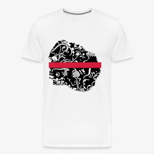 Schwarz und Weiß - Männer Premium T-Shirt