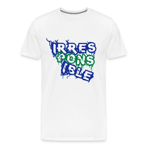 irresponsible - Men's Premium T-Shirt