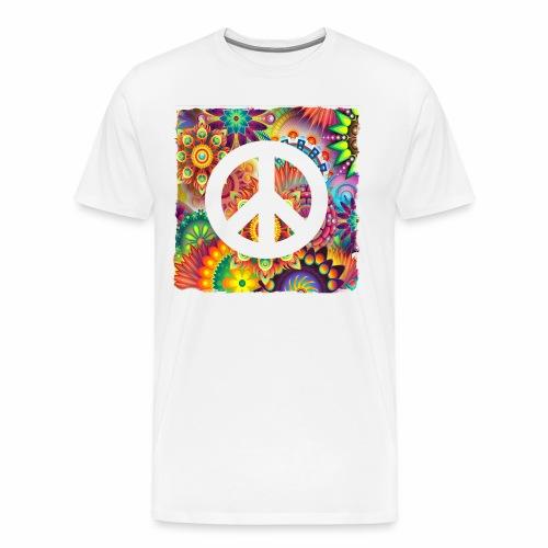 Psychadelic Peace - Männer Premium T-Shirt