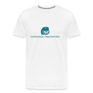 Coloured Tetracious Logo - Men's Premium T-Shirt