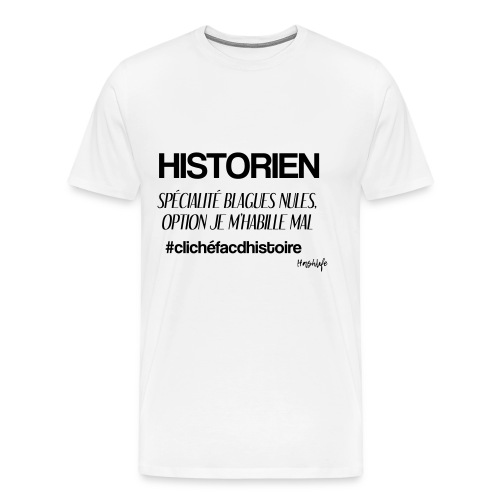 clich histoire - T-shirt Premium Homme