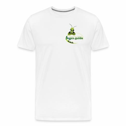 Freizeit.Neu.Erleben mit maxx.guide! - Männer Premium T-Shirt
