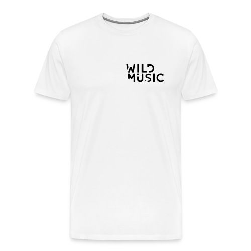 Wild Music Logo - Camiseta premium hombre