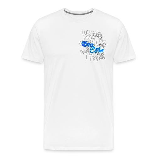 Sea Flow teschio abbigliamento - accessori - Maglietta Premium da uomo