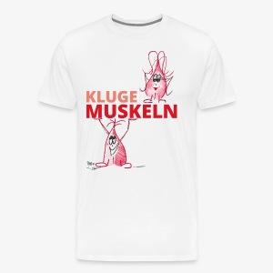 Kluge Muskeln - Männer Premium T-Shirt