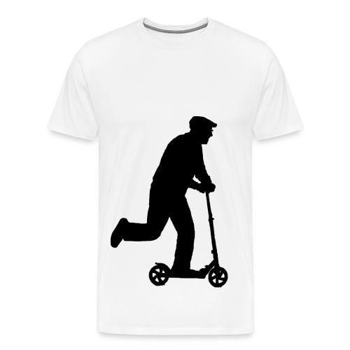 Alter Mann in Bewegung - Männer Premium T-Shirt