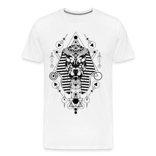 Abstrakte Maske - Männer Premium T-Shirt