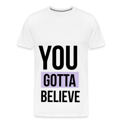 YGB-merch-logo-001 - Mannen Premium T-shirt