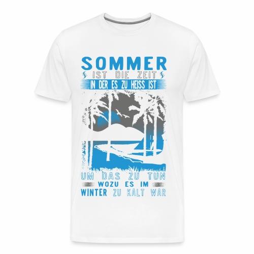 Sommer, Sonne, Strand - Männer Premium T-Shirt