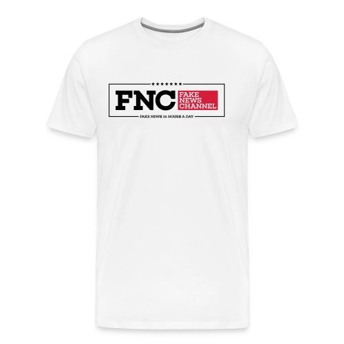 FNC Fake News Channel - Männer Premium T-Shirt