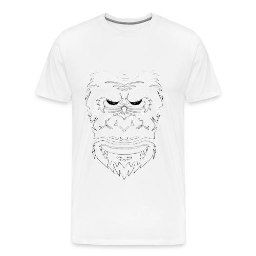 GorillaYeti - Männer Premium T-Shirt