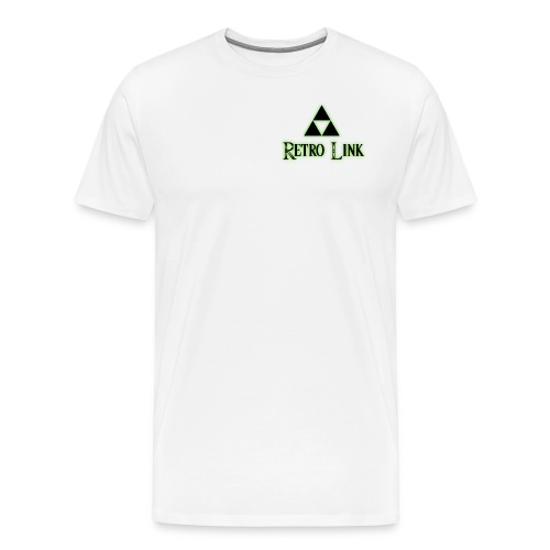 Logo Retro Link - T-shirt Premium Homme