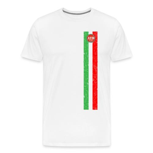 Logo con Bandiera verticale - Maglietta Premium da uomo