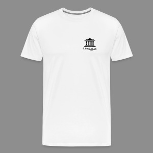 The Temple's White Classic - Men's Premium T-Shirt