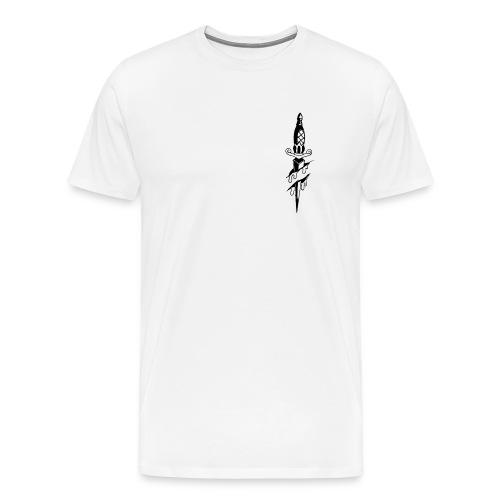 dagger black - Men's Premium T-Shirt