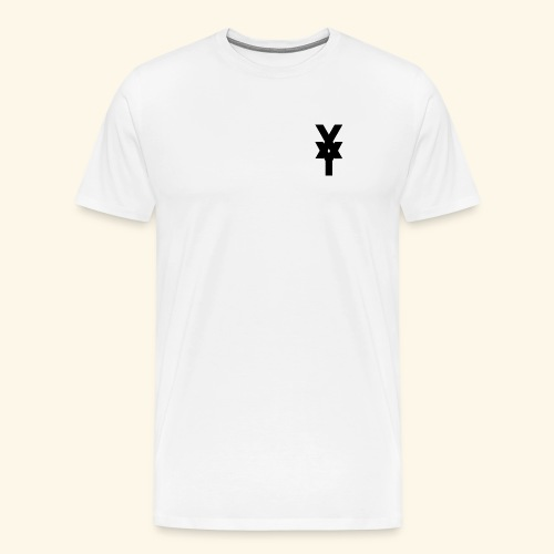 XY Logo In Black - Men's Premium T-Shirt