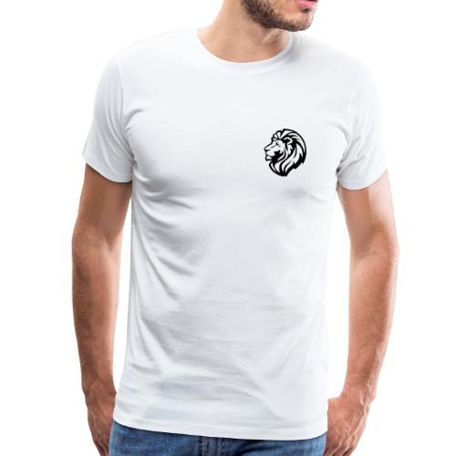 león - Camiseta premium hombre