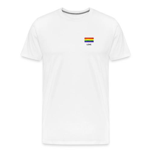 love is love Shirt - Männer Premium T-Shirt