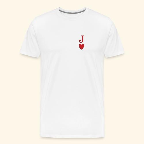Valet de trèfle - Jack of Heart - Reveal - T-shirt Premium Homme