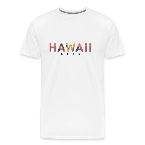 Hawaii-Sunset - Männer Premium T-Shirt
