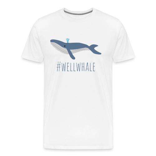 #WellWhale - Mannen Premium T-shirt