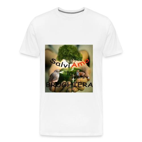 t-shirt SalviAmo (logo non originale) - Maglietta Premium da uomo