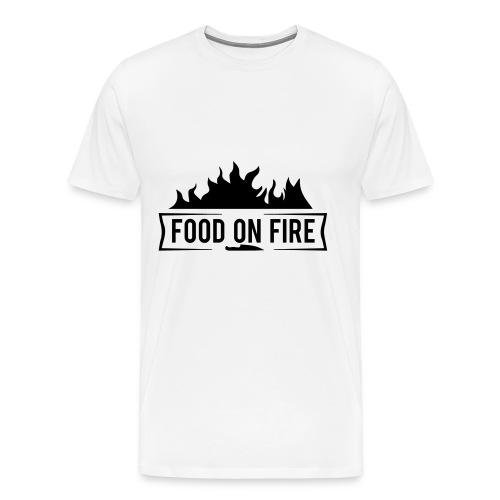 Food on Fire - Männer Premium T-Shirt