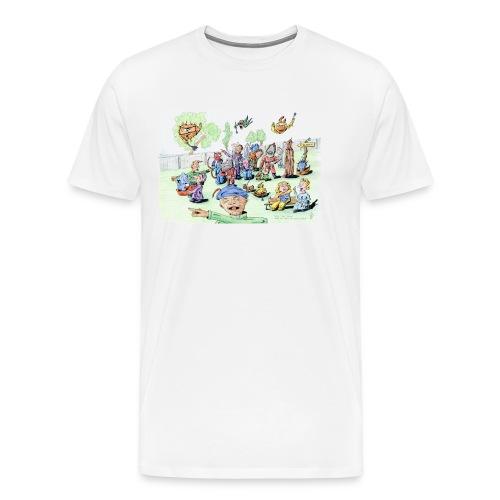 Alles komt goed, ook als het niet goed komt - Mannen Premium T-shirt