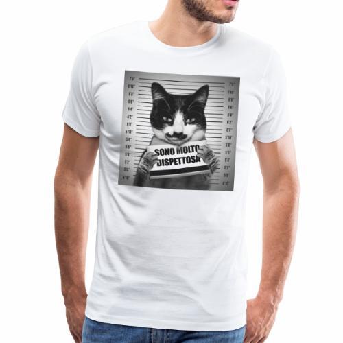 Micia Dispettosa - Maglietta Premium da uomo
