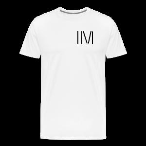 IM LOGO SCHWARZ - Männer Premium T-Shirt