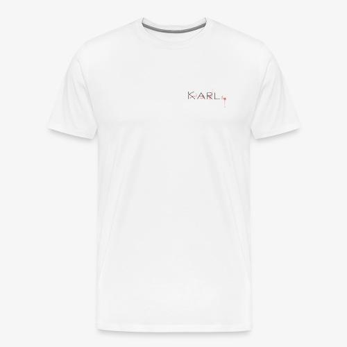 Dexter Karl - Premium-T-shirt herr