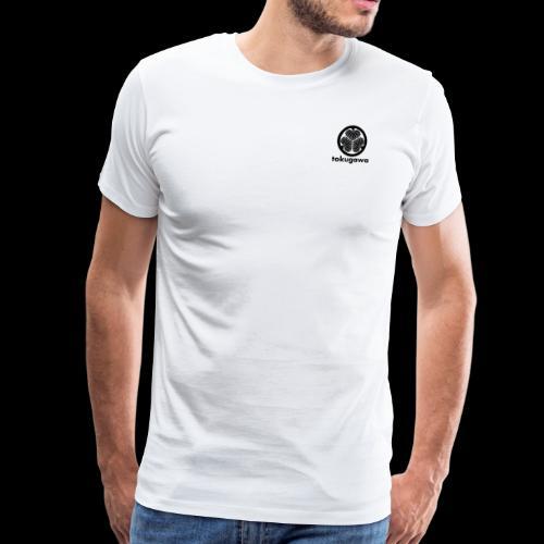 tokugawa mon with title - Men's Premium T-Shirt