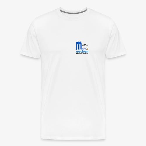 Wetter, das süchtig macht! - Männer Premium T-Shirt