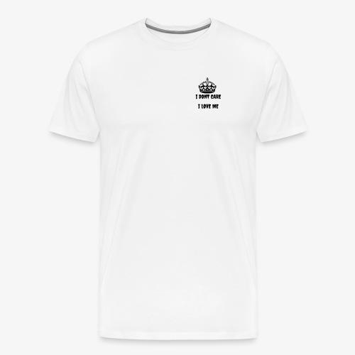 Official Shooting Star Merchandise I don't care - Männer Premium T-Shirt