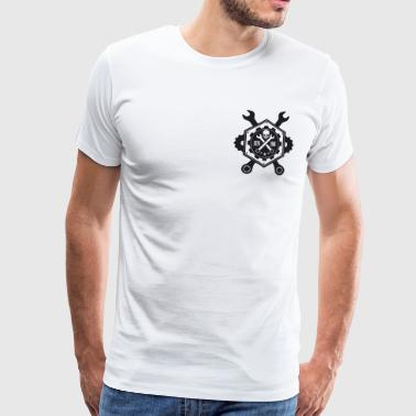 Triad Kings Gear head Print. - T-shirt Premium Homme