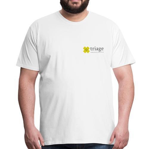 Triage Logo - Männer Premium T-Shirt