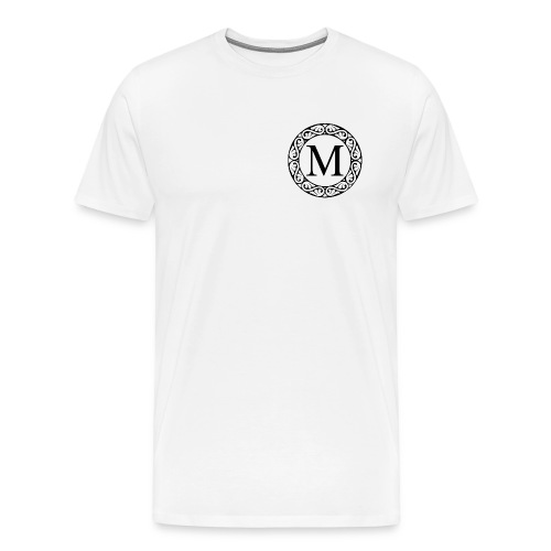 the letter M - Men's Premium T-Shirt