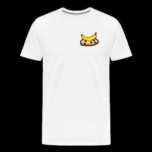 Banankaka - Premium-T-shirt herr