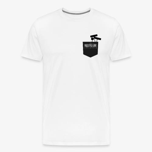 Shaper Pocket - Männer Premium T-Shirt