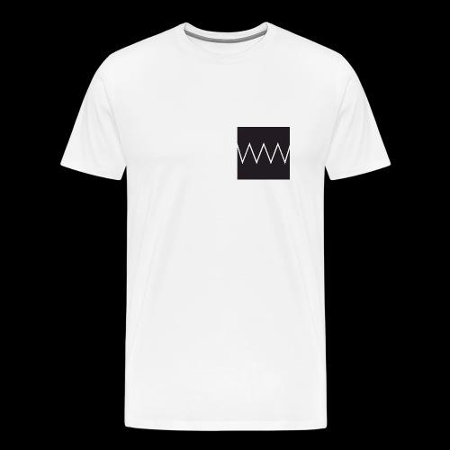 doubledoubleu white - Maglietta Premium da uomo