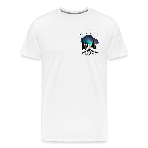 Northern night - T-shirt Premium Homme