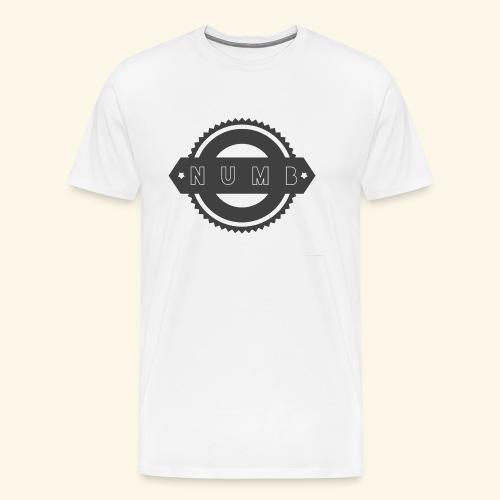 NumbClothingCo logo tee - Men's Premium T-Shirt