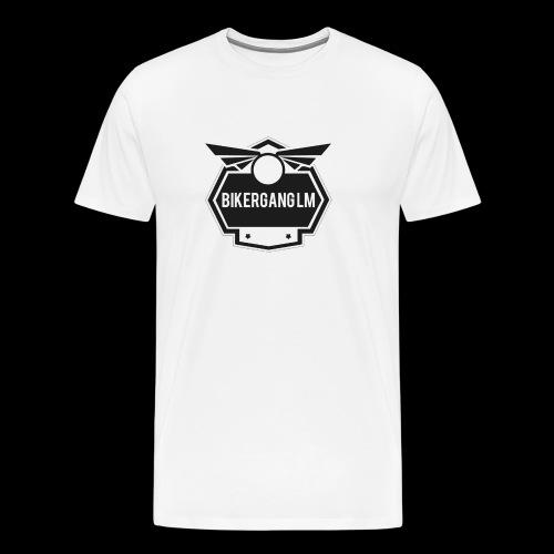 BikerGang LM Logo - Männer Premium T-Shirt